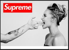 "Supreme, the ""edgy"" skate shop. 