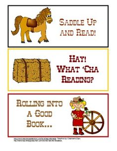 Western Reading Theme - Cowboys and Cowgirls: Saddle Up and Read!