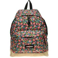 Eastpak Floral Backpack (€80) ❤ liked on Polyvore featuring bags, backpacks, men, military duffel bag, backpack duffle bag, floral backpacks, military backpacks and padded duffle bag
