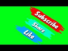 INTRO SUBSCRIBE GREEN SCREEN ( NO COPYRIGHT ) - YouTube First Youtube Video Ideas, Intro Youtube, Youtube Channel Art, Youtube Logo, Facebook Like Logo, Facebook And Instagram Logo, Dj Images, Animated Love Images, Green Screen Video Backgrounds