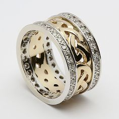 .Celtic wedding band