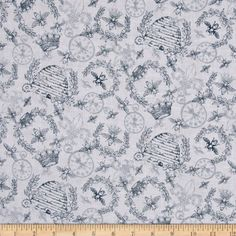 Queen Bee Toile Grey Fabric Quilting Treasures http://www.amazon.com/dp/B00J50KHLS/ref=cm_sw_r_pi_dp_7435ub013NFHD