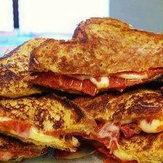 Pizza Grilled Cheese. I remember making these when I was little, need to find a little sandwich grill like we had!!