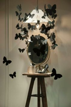 Lanvin butterfly windows