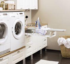 Kodinhoitohuone Home, Laundry Room, Laundry, Washing Machine, House, Home Appliances, Room