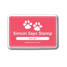 Simon Says Stamp Premium Dye Ink HOT LIPS ink033 Cold Hands Warm Heart zoom image