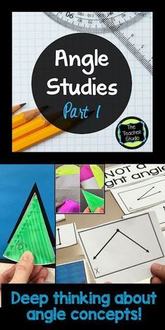 I love teaching angles because there is SO much mathematical thinking involved! Check out this post with ideas for how to deepen your students' understanding with some fun along the way!