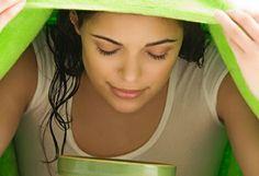 Bagni di vapore per eliminare acne e punti neri