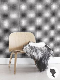 Temporary Geometric Pattern Self Adhesive Wallpaper by Livettes