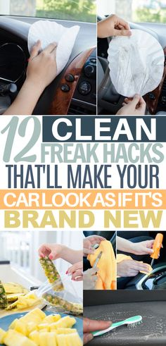 Diy Car Cleaning, Homemade Cleaning Products, Household Cleaning Tips, Cleaning Recipes, House Cleaning Tips, Natural Cleaning Products, Spring Cleaning, Cleaning Supplies, Car Care Tips