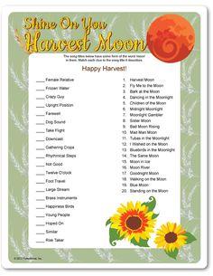 Printable Shine On You Harvest Moon - Funsational.com