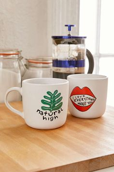 I Love Everything About You Mug - Urban Outfitters