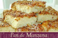 Panecillo suave, con una base de manzana cocida y una deliciosa escarcha de azúcar, nuez y canela.