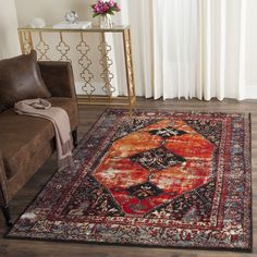 safavieh vintage hamadan orange distressed rug 8u0027 x 10u0027 by safavieh