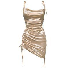 Hoco Dresses, Pretty Dresses, Dress Outfits, Fashion Outfits, Womens Fashion, Homecoming Dresses, Satin Midi Dress, Satin Dresses, Silk Dress