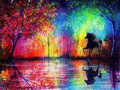 Rainbow Stallion by AnnMarieBone.deviantart.com on @deviantART