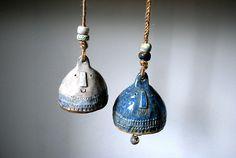 Ahttp://atelierstella.tumblr.com/#telier Stella. Ceramic bells.
