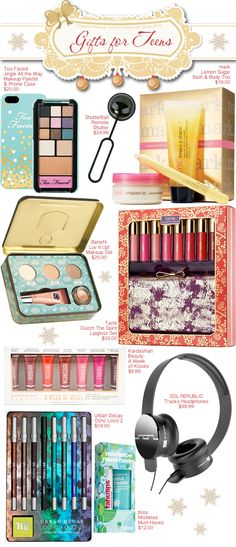 Beautiful Makeup Search Holiday Gift Guide - Gifts for Teens #giftsforher #giftguide #gifts