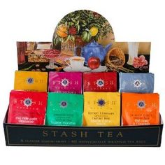 Stop in and sample our selection of teas!