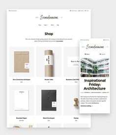 Scandinavian - Minimal WooCommerce by Hello Detail on @creativemarket