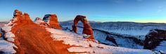 Trek aux USA. Utah, Delicate Arch, Moab