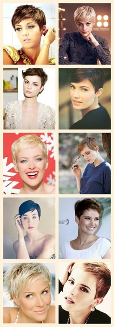 Perfect Pixies 2 - A Beautiful Little Life - Click through for more great short hair images!