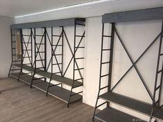 Разборный стеллаж-трансформер в стиле лофт – купить в интернет-магазине на Ярмарке Мастеров с доставкой - G2I19RU   Москва