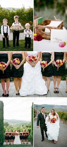 fall wedding inspiration!