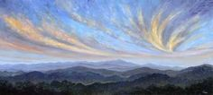 Sweeping clouds over pisgah - Blue Ridge Parkway, Jeff Pittman Original Art oil Painting Prints Giclee Painting On Wood, Painting Prints, Blue Ridge Parkway, Wood Paneling, Art Oil, Painting Inspiration, Artsy Fartsy, Landscape Paintings, Original Art