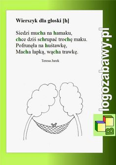 Learn Polish, Speech Room, Speech Therapy, Kids Learning, Poland, Kindergarten, Education, Speech Language Therapy, Literatura