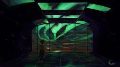 Northern Lights wallpaper for desktop and phones Green Girl, Sky, Deviantart, Lights, Landscape, Woman, Illustration, Artist, Home Decor