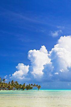 Vahine Island, French Polynesia...