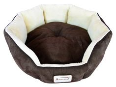 Armarkat Mocha/Beige Faux Suede and Soft Velvet Round Cat Bed at Lowe's. You can wrap your cat or extra small dog in buttery faux suede and luxe velvet with Armarkat model pet bed. Dog Beds For Small Dogs, Cat Supplies, Pet Beds, Puppy Beds, Best Dogs, Your Pet, Dog Cat, Mocha, Beige
