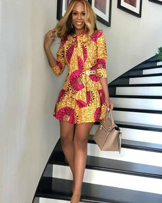 Ankara short gown designs African Fashion Designers, Latest African Fashion Dresses, African Print Dresses, African Print Fashion, African Dress, African Style, African Hair, African Ankara Styles, Ankara Short Gown Styles