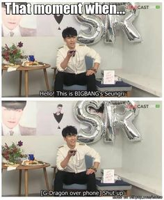 Seungri and G dragon XD. Not Asian Drama but can't resist sharing some Big bang love ^_^