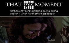 Such a great actress OTH <3