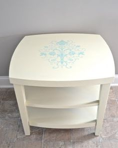 pretty rescued table