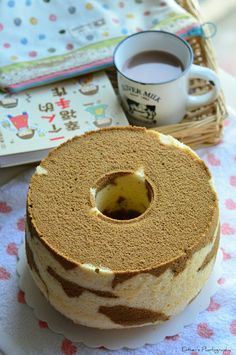 Copycake Kitchen: Coffee Marble Chiffon Cake 咖啡大理石戚风蛋糕