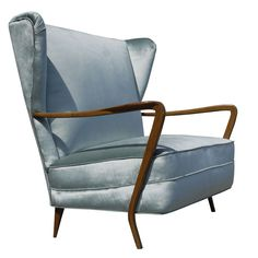 From my friend Lewis Trimble's shop Paolo Buffa Settee, Italy Settee, Wingback Chair, Mid Century Modern Furniture, Antique Furniture, Wing Chair, Vintage Designs, Home Accessories, Love Seat, Furniture Design