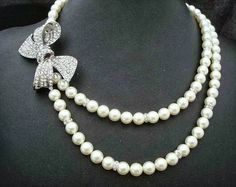 love the pearls....