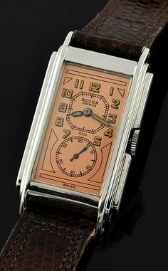 We deliver a plethora excellent graphic designer watches to fit your elegant needs. Antique Watches, Vintage Watches, Luxury Watches, Rolex Watches, Cool Watches, Watches For Men, Vintage Rolex, Beautiful Watches, Men Watches