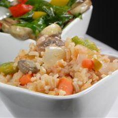 Rice on the Grill Allrecipes.com