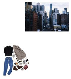 """""""blue-ish"""" by amoonshapedpool ❤ liked on Polyvore featuring Juicy Couture, T By Alexander Wang, Monki, Shinola, PèPè, Vagabond and Acne Studios"""