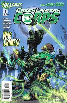 Green Lantern Corps (DC, 2011) #4