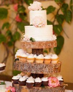 Mellow, wedding cake