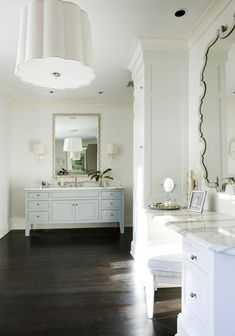Designed by Melanie Turner | Featuring the Simple Scallop Chandelier and Simple Scallop Sconces