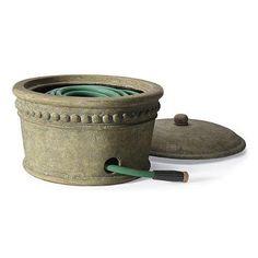 Beaded Stonecast Hose Pot