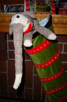 Stocking Stuffy: Sock Elephant - 2009