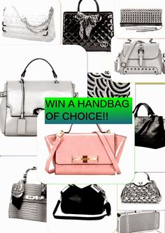 MyStyleSpot: GIVEAWAY: WIN a Handbag of Your Choice!