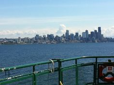 Puget Sound, Seattle Washington from the ferry